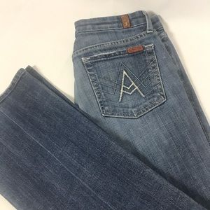 """7 For All Mankind """"A Pocket"""" Women's Jeans Size 28"""